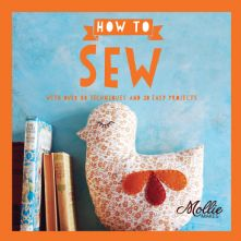 How to Sew by Molly Makes 20 Project Paperback Sewing Book